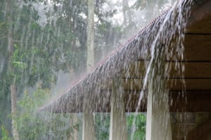 Keeping Roof Safe During Flash Flood | Piedmont Roofing