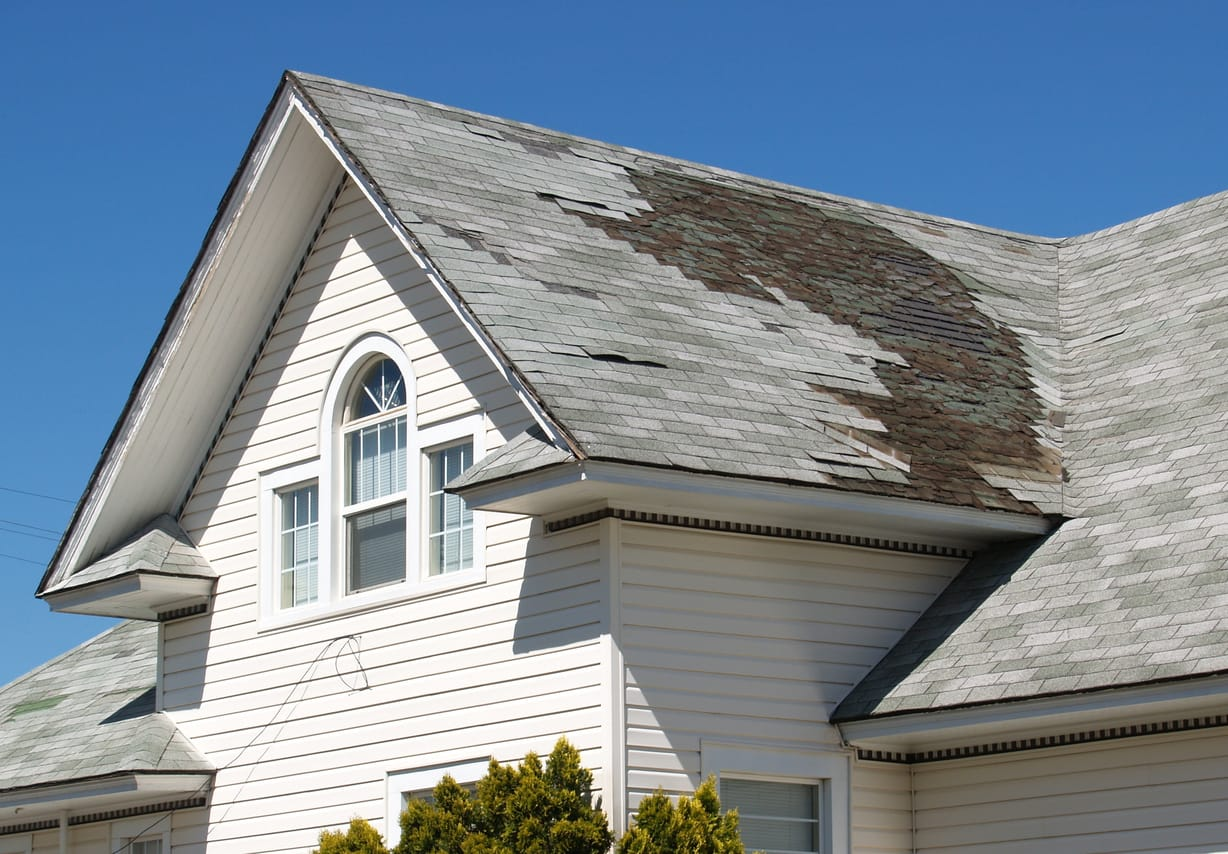 Orange County Roofing And Repairs   Shingle Damaged Roof | Piedmont Roofing