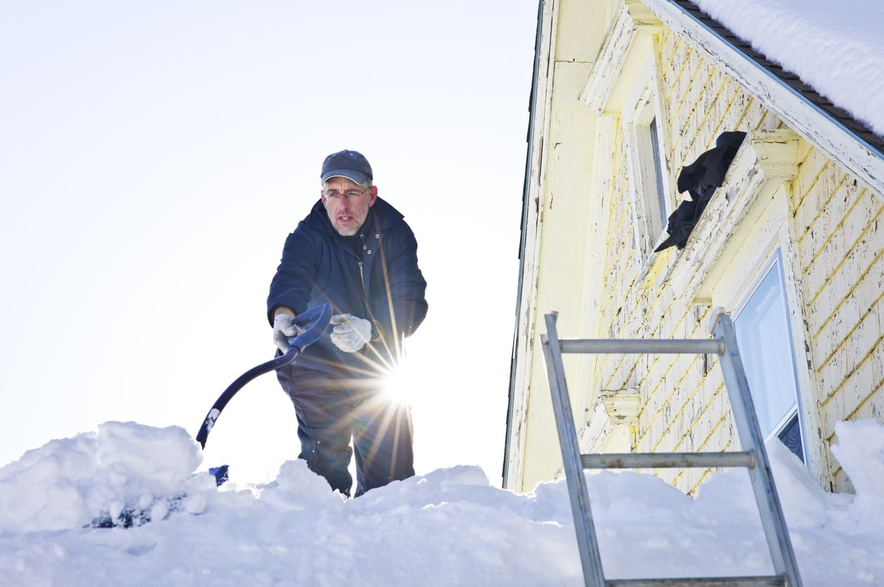 Working On Roof In Winter: Safety Tips | Piedmont Roofing