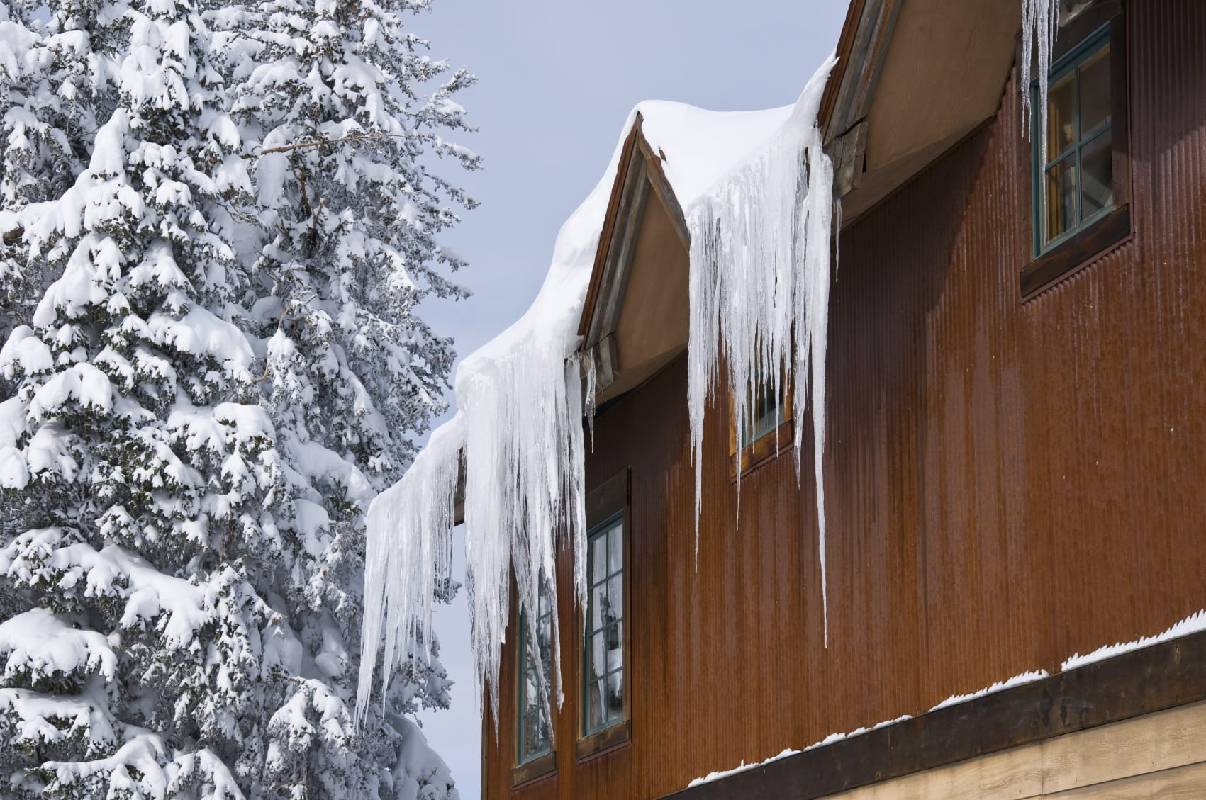 Snow on Roof | Piedmont Roofing