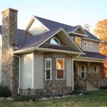 Metal Roofing on House | Piedmont Roofing