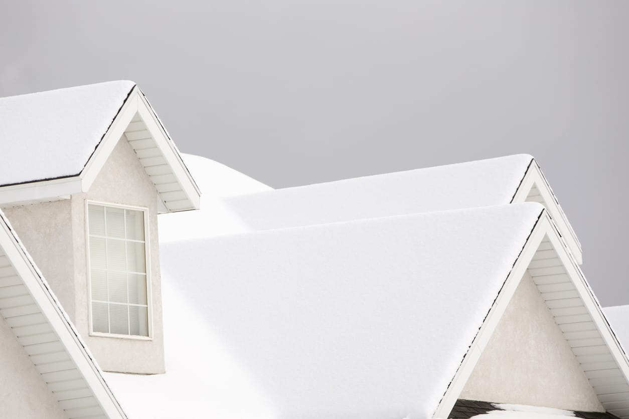 Snow Covered Roof | Piedmont Roofing